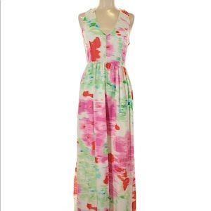 Cute spring time maxi dress